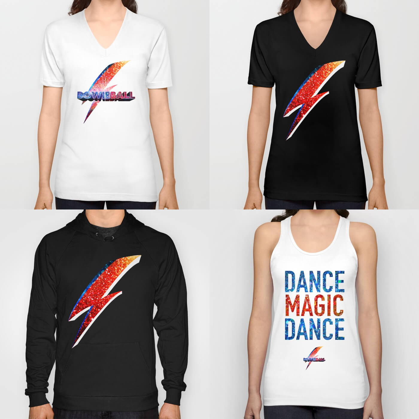 Bowie Ball T-Shirts